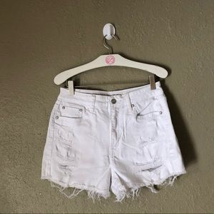 American Eagle mom shorts size 4